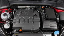 Volkswagen Golf VII with EA288 engine
