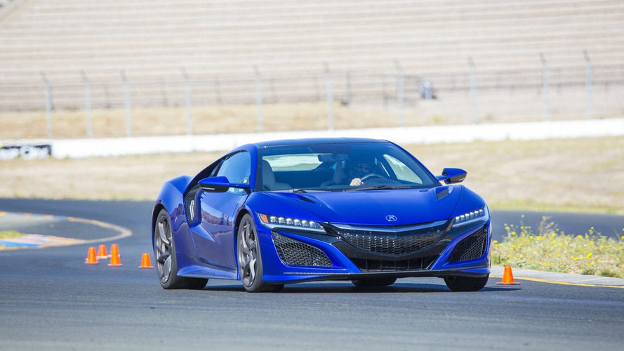 Acura NSX Type R to be rear-wheel drive?
