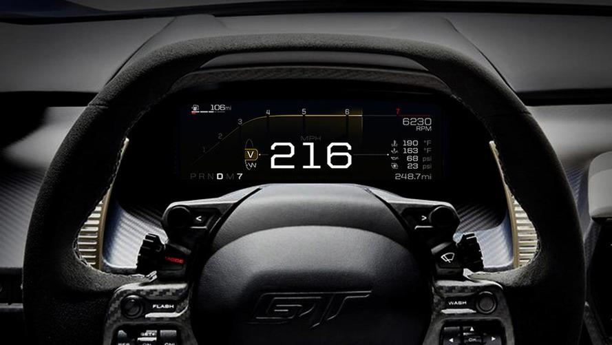 Ford GT - Découvrez son tableau de bord en vidéo