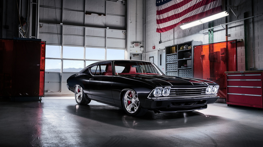 Chevy Chevelle Slammer concept blends retro styling with modern hardware