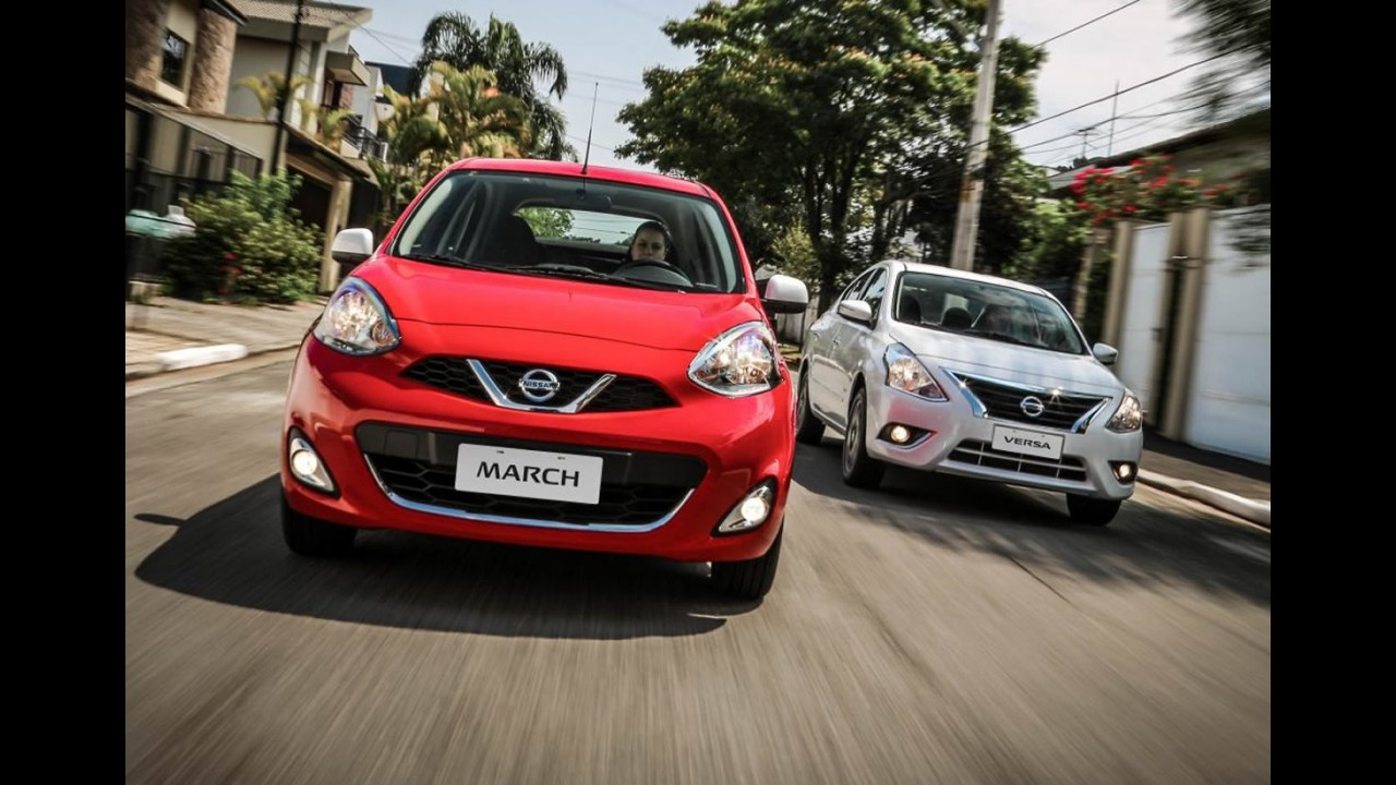 Nissan lança multimídia com Waze integrado para March e Versa 2016