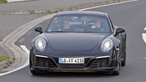 Porsche 911 2019 photos espion