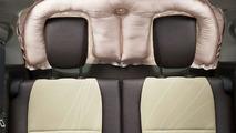 Toyota rear window SRS airbag