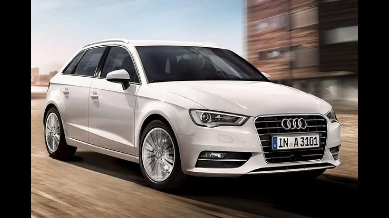 Audi A1 e A3 terão motores de três cilindros até o fim deste ano