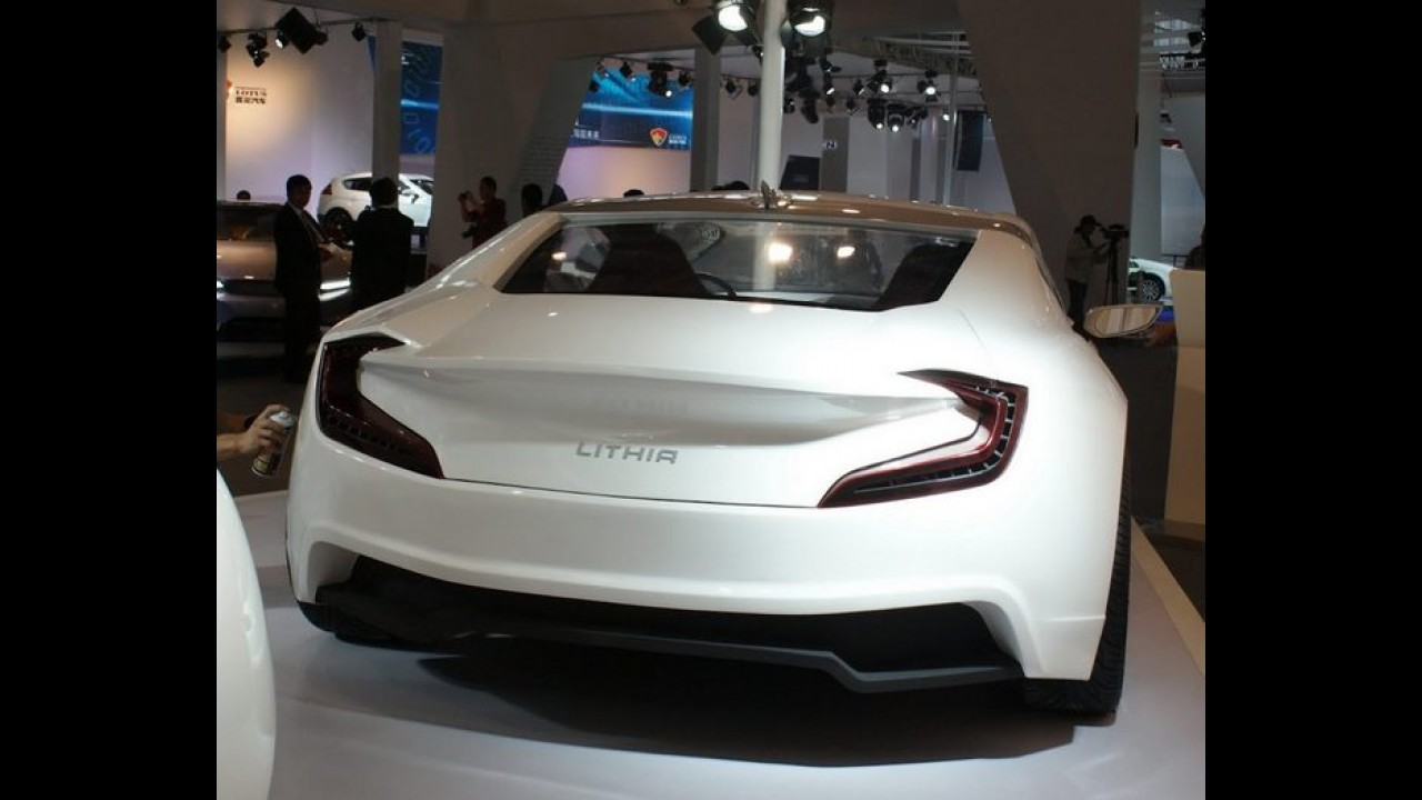 Salão de Pequim: CH Auto Lithia - carro elétrico é esportivo apenas na aparência