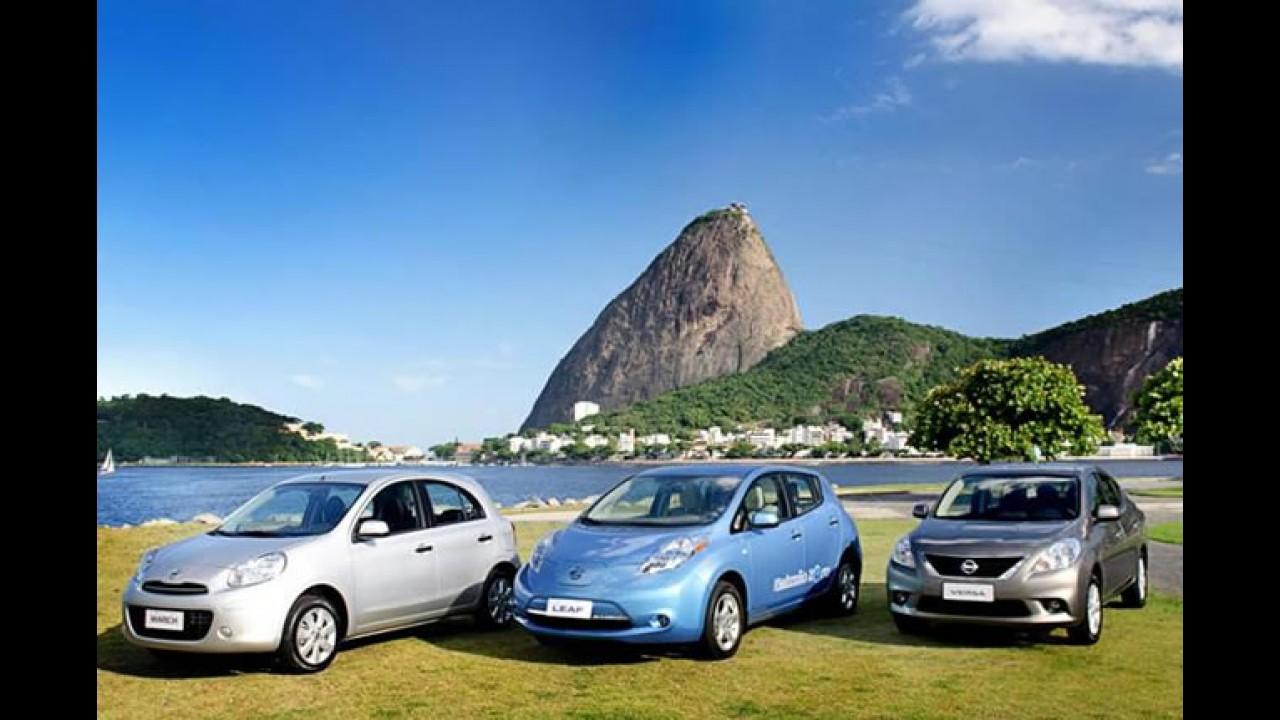 Rio 2016: Nissan é patrocinador automotivo dos Jogos Olímpicos do Rio de Janeiro