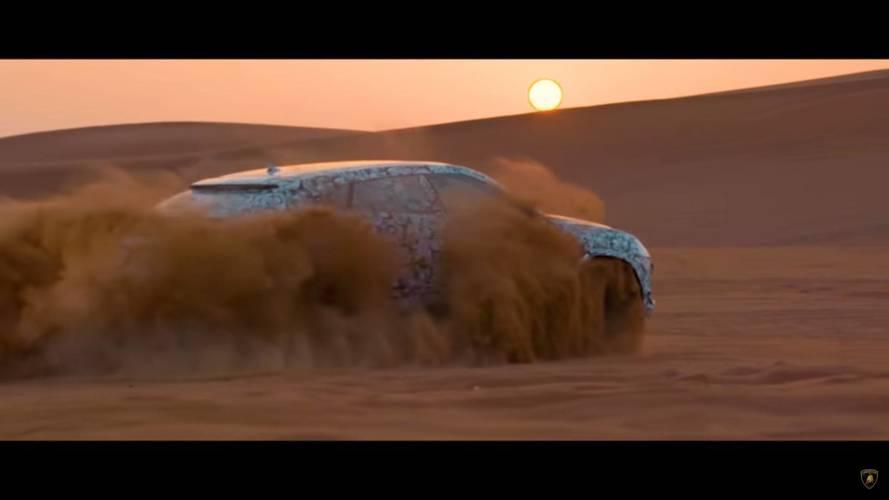 Lamborghini teases a little more Urus ahead of 4 December reveal