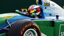 Mick Schumacher Benetton F1-13