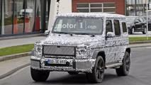 2019 Mercedes-Benz G-Class spied