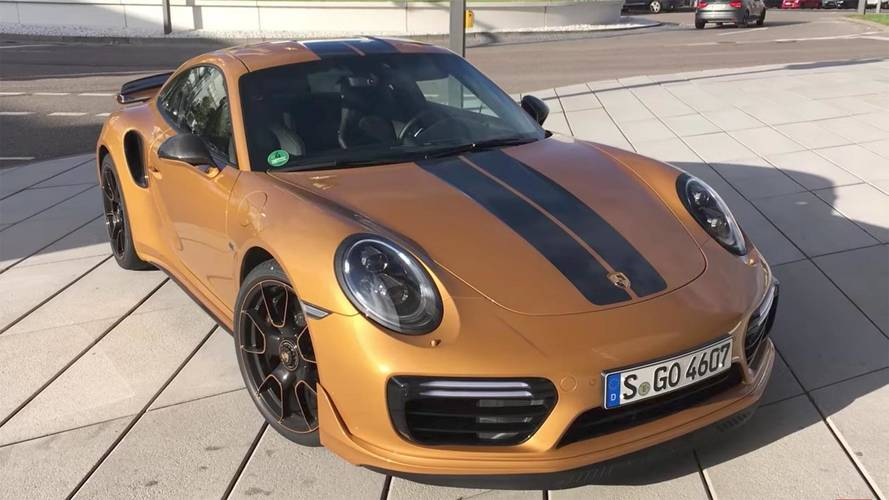 Vídeo: el Porsche 911 Turbo S Exclusive Series alcanza 343 km/h