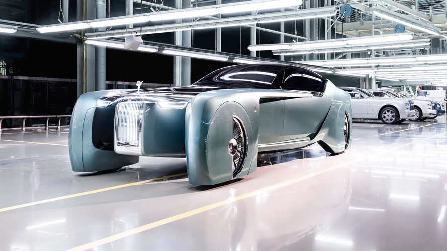 Rolls-Royce Reveals Its Electric, Self-Driving Car Of The Future