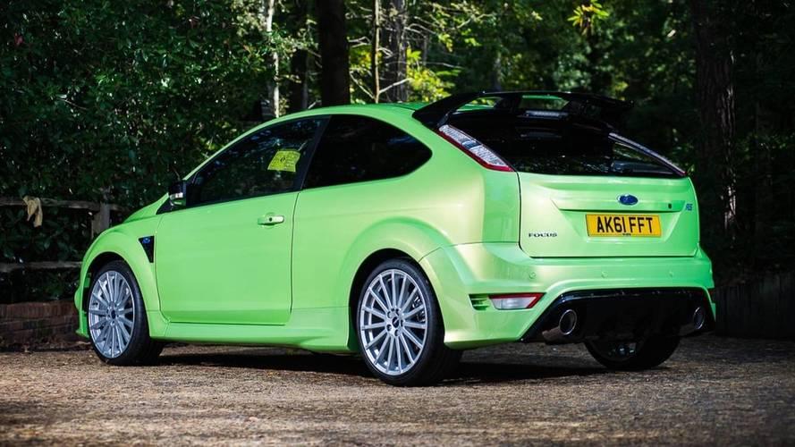 Un Ford Focus RS de 2011, con 29 kilómetros, adquirido por 49.678 euros (actualizado)