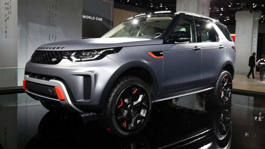 Land Rover Discovery SVX Gets V8 Power, Better Off-Road Chops