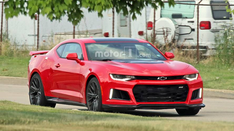2019 Chevy Camaro ZL1 Spied Completely Uncovered
