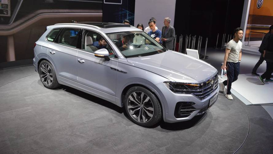 2019 VW Touareg Live From Beijing