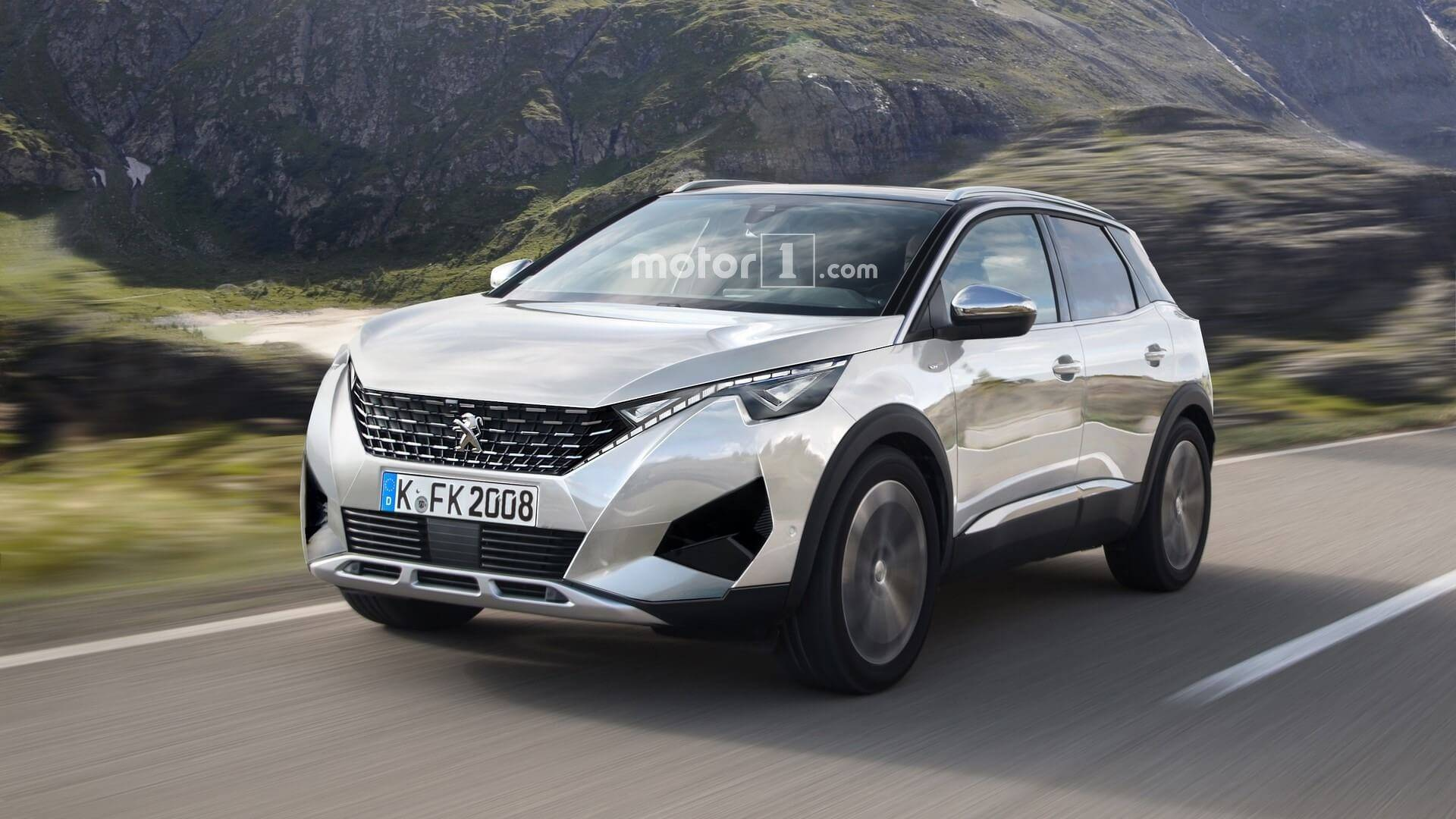 Peugeot 2008 2019 >> Next Generation Peugeot 2008 Rendered With 3008 Cues