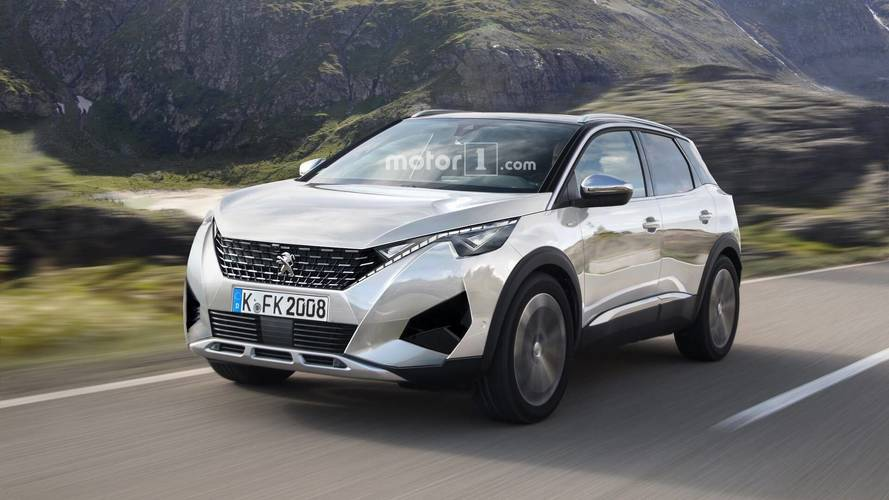 Next Generation Peugeot 2008 Rendered With 3008 Cues