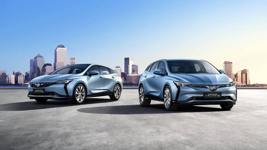 Buick Velite 6 Debuts In China As Pure EV And Plug-In Hybrid