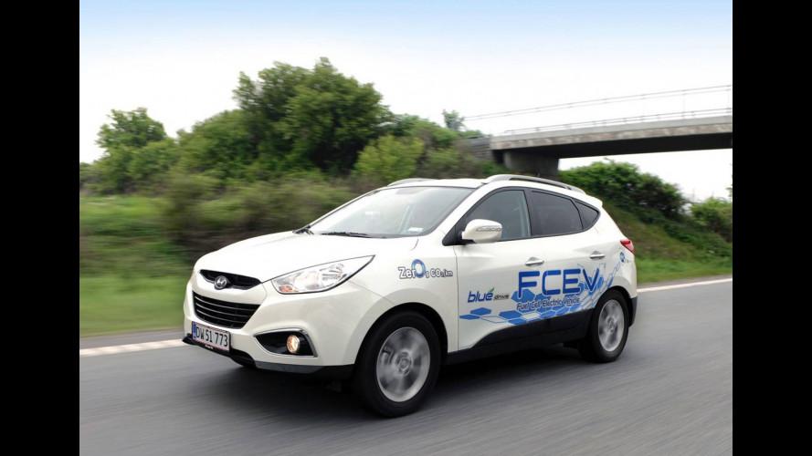 Hyundai ix35 FCEV sulle strade del Nord Europa
