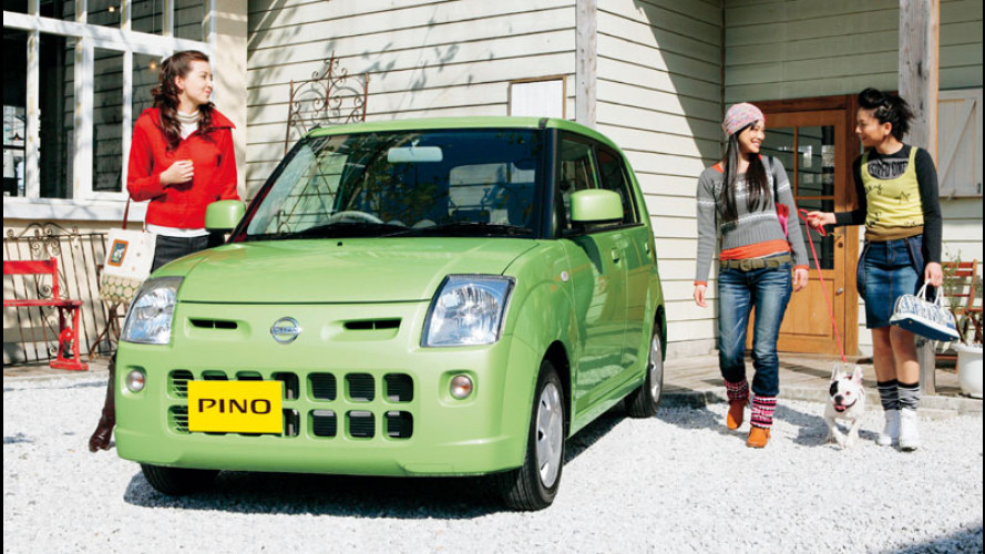 Nissan Pino: nuova minicar per il Giappone