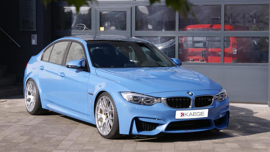 BMW M3 upgraded to 517 HP by Kaege