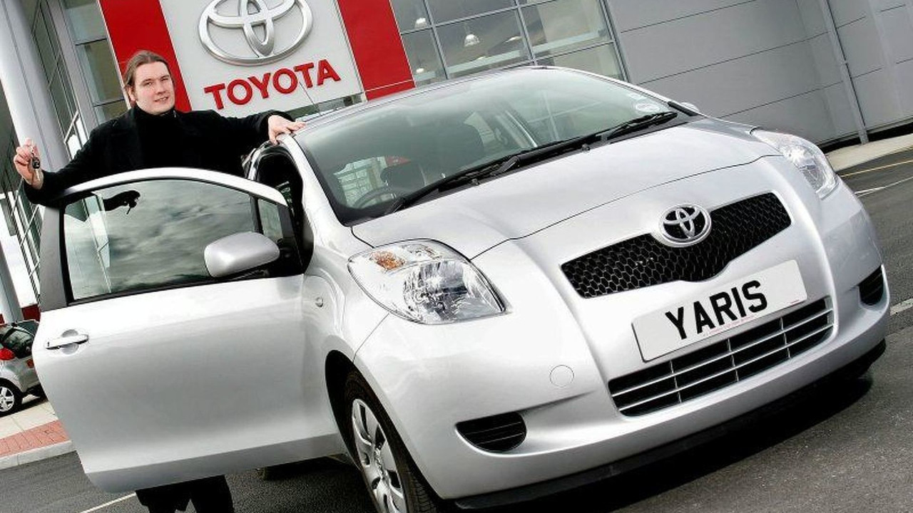 Two Millionth Toyota Sold in UK - Toyota Yaris
