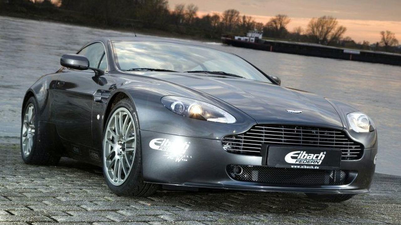 Aston Martin Vantage V8 HP400+ by Eibach