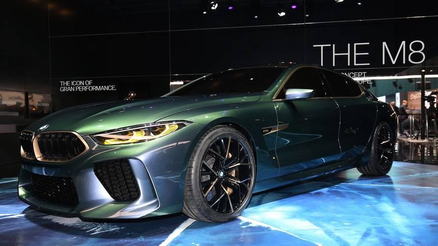 BMW'nin M8 Gran Coupe konseptini yakından inceleyin