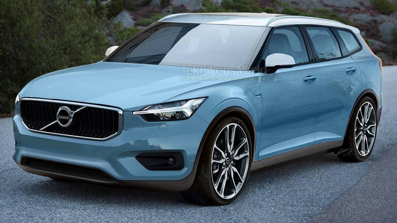 2020 Volvo V40 render