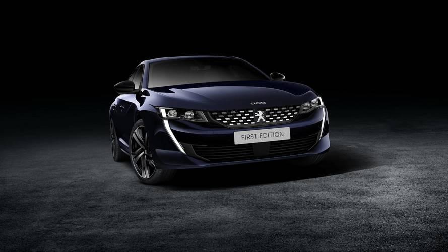 Une First Edition pour la nouvelle Peugeot 508 — Salon de Genève