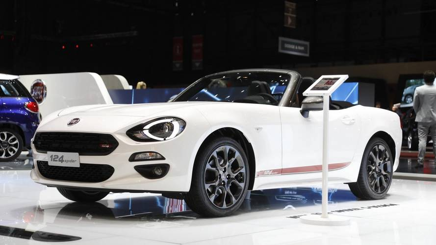 Fiat 124 Spider S-Design Live From Geneva Motor Show