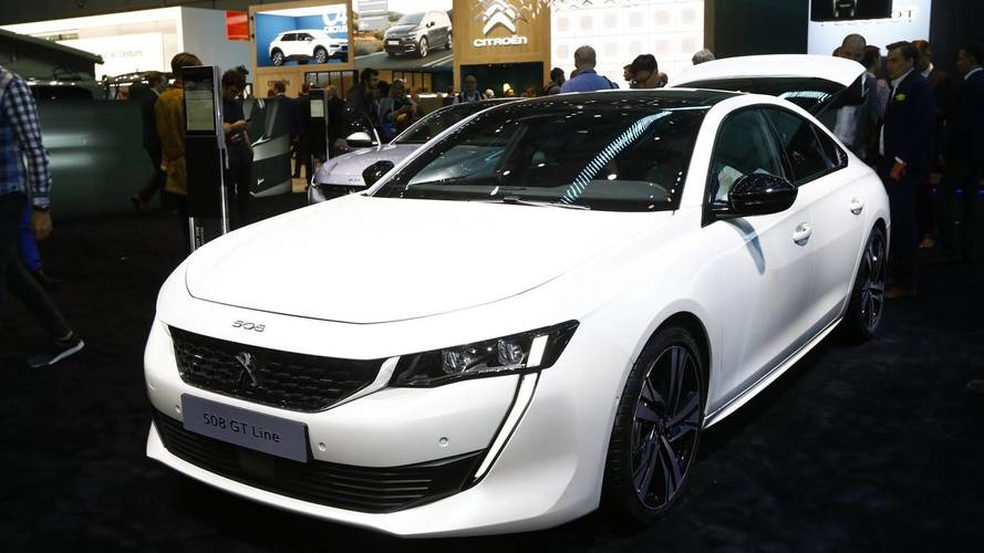 Peugeot 508 at the 2018 Geneva motor show