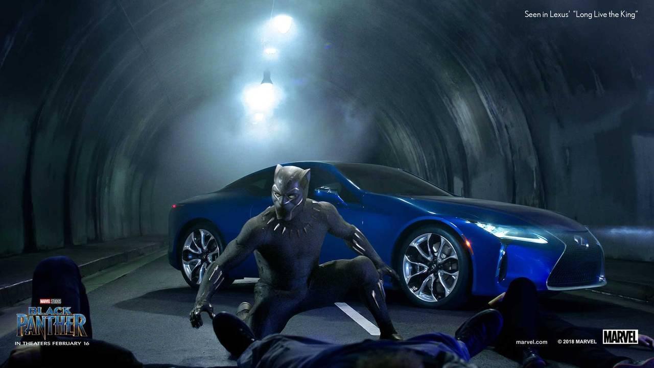 Good/Bad: Lexus LC 500 in Black Panther