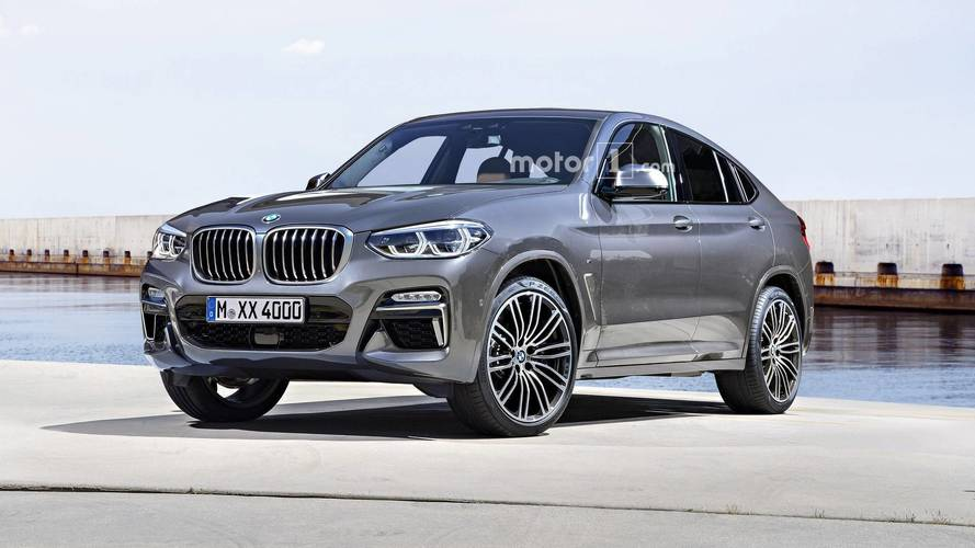 2019 BMW X4 Render Might As Well Be An Official Image