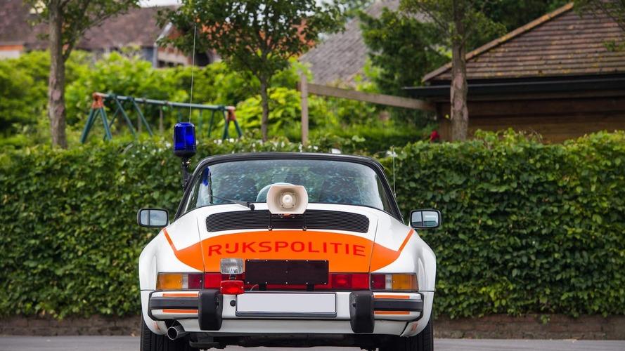 Porsche 911 Targa 1989 - Voiture de police néerlandaise