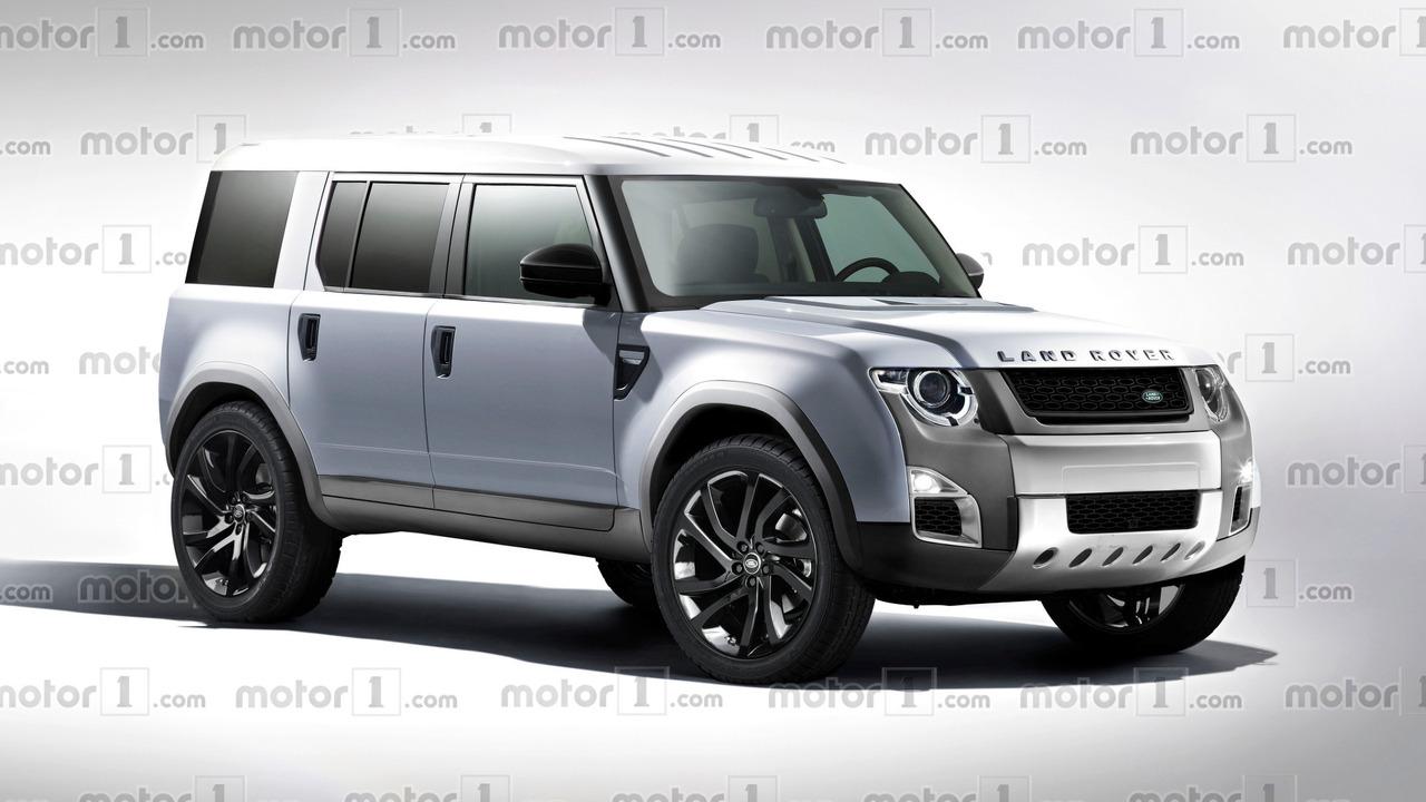 2018 Land Rover Defender render