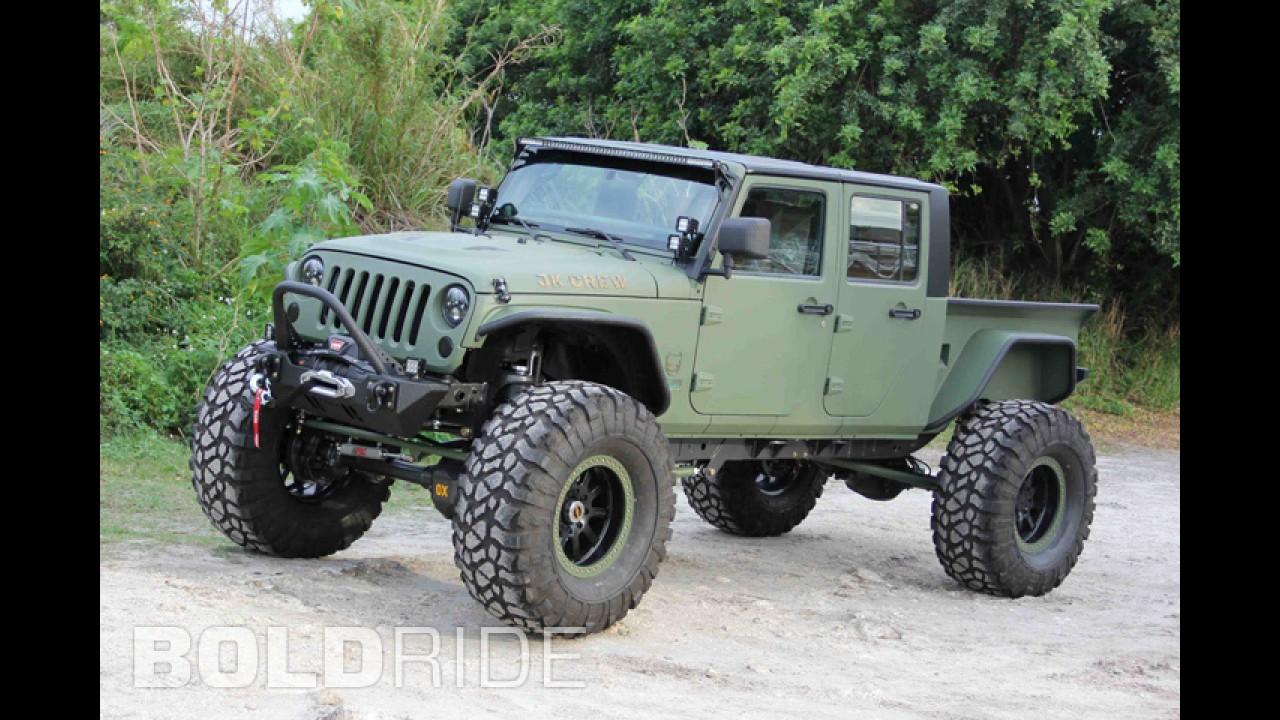 Bruiser Conversions Jk Crew Jeep Wrangler