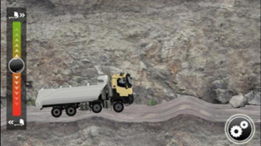 Renault TruckSimulator, una app e diventi camionista! Per gioco…