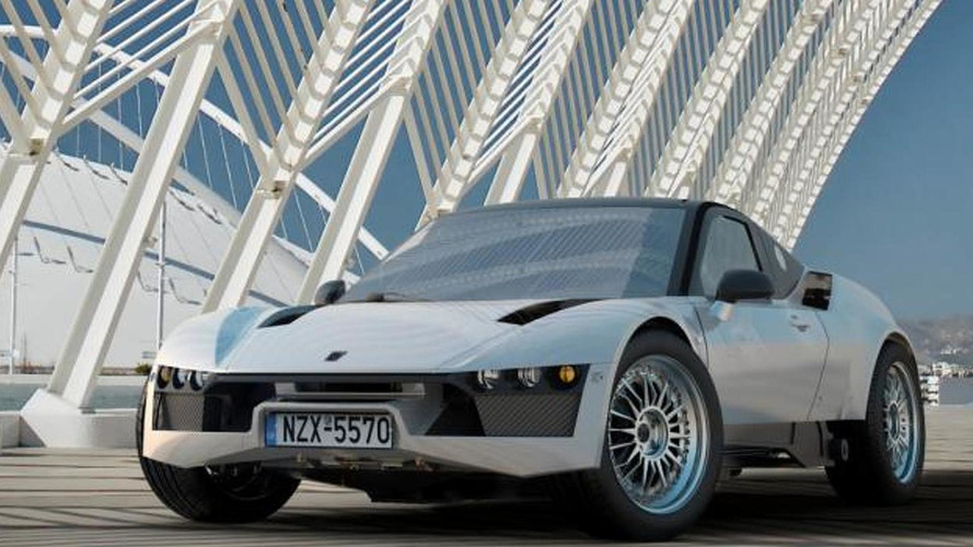 Korres Project 4 is a Greek supercar with a 7.0-liter engine