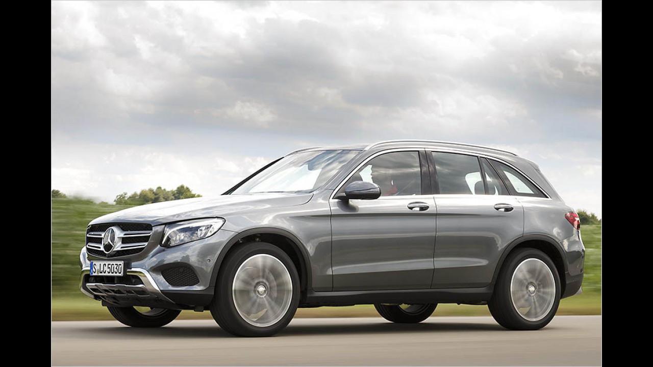 Das beste SUV: Mercedes GLK