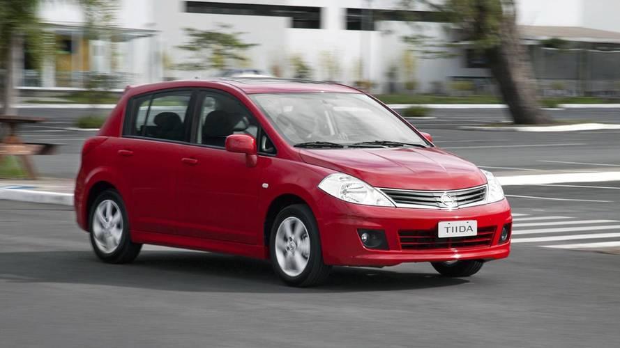 Nissan Tiida e Tiida Sedan têm 35.413 unidades convocadas no Brasil