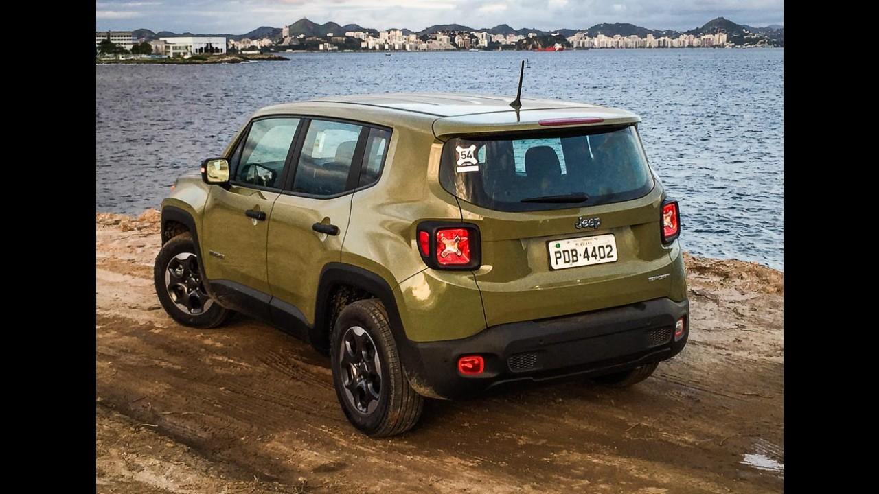 Jeep Renegade bate recorde como SUV mais vendido em um único mês