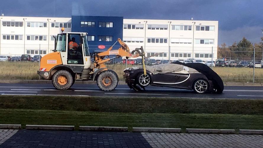 Que dó! Este é o primeiro acidente com um Bugatti Chiron