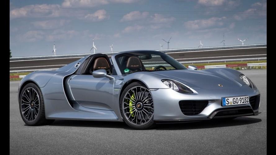 Porsche 918 Spyder é roubado de dentro da concessionária nos EUA