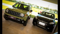 Antecipamos o duelo do ano: Honda HR-V encontra Jeep Renegade