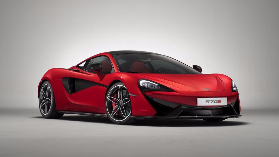 La McLaren 570S s'offre plusieurs