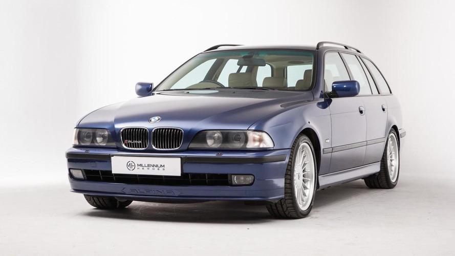 Cette rare BMW Alpina B10 V8 Touring de 1999 est à vendre