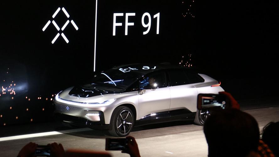 Faraday Future FF 91 park gösterisinde çalışmadı