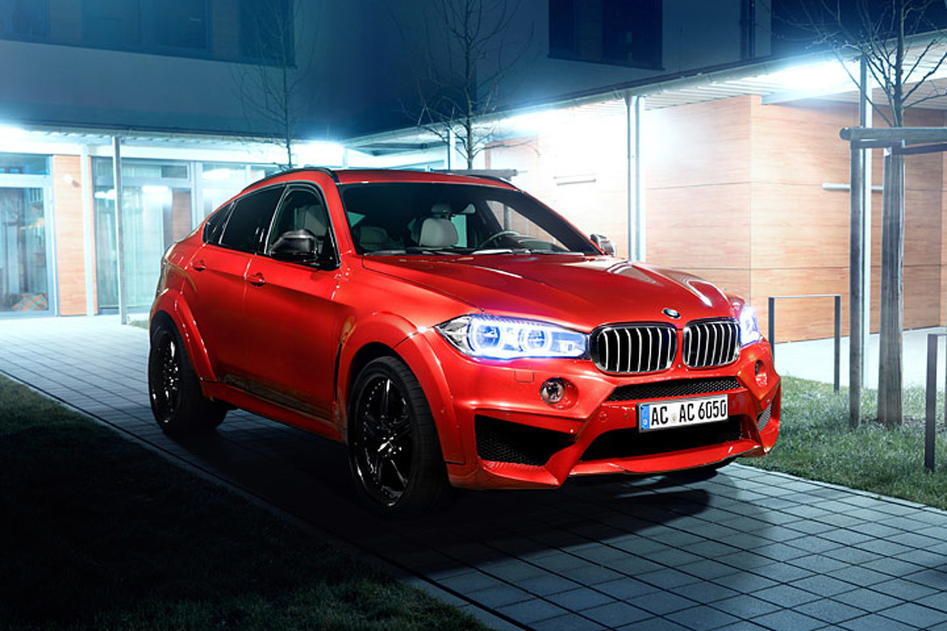 This BMW X6 Got Cranked Up to 650HP