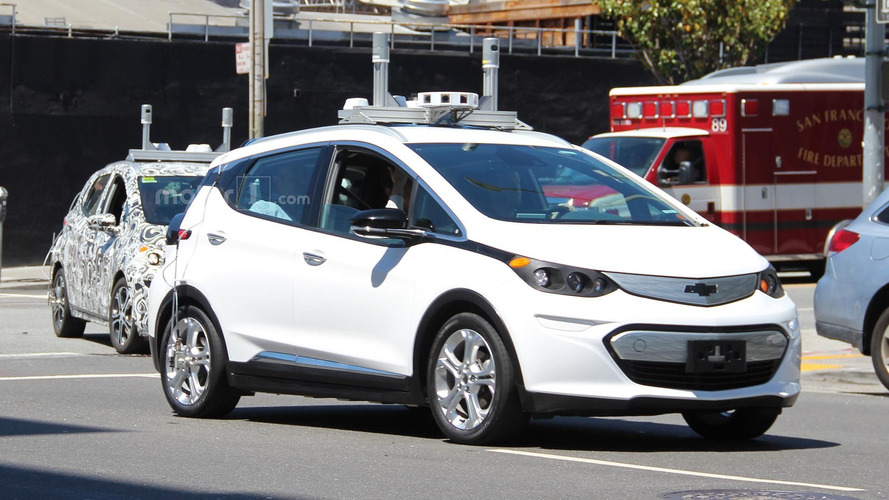 Autonomous Chevy Bolt spy photos